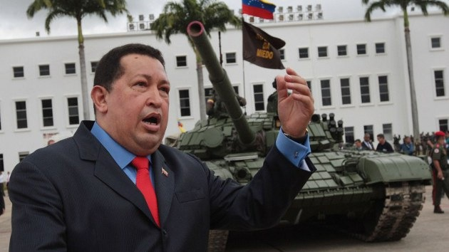 Venezuela se sube al carro de combate ruso