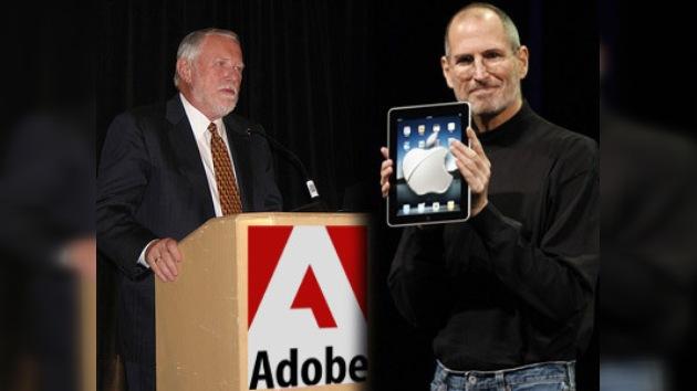 Apple y Adobe inician su particular 'guerra digital'