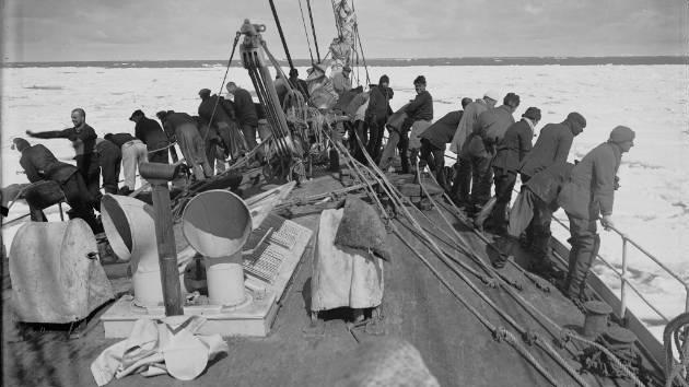 Hallan en la Antártida negativos fotográficos de 100 años de antigüedad