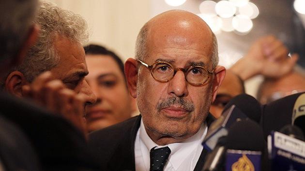 """El Baradei: Los islamistas """"han secuestrado"""" la revolución"""