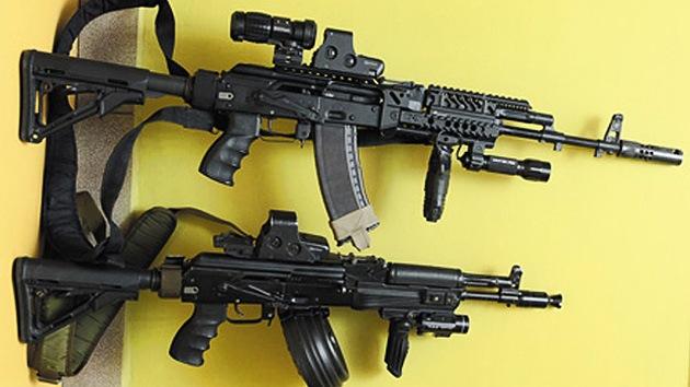 El Kaláshnikov AK-12 se fabricará en serie a partir de 2013