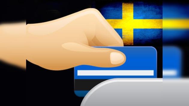 Los suecos avanzan hacia una economía sin dinero en efectivo