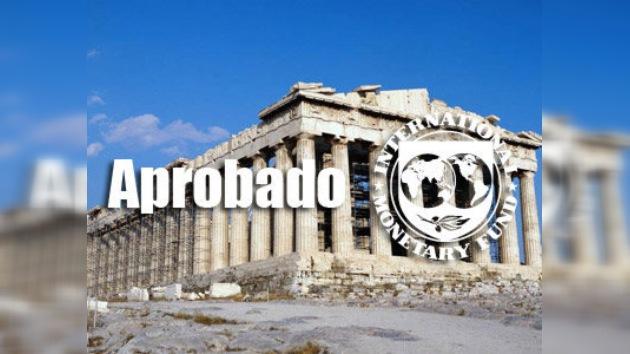 FMI aprobó un crédito por 30.000 millones de euros para ayudar a Grecia