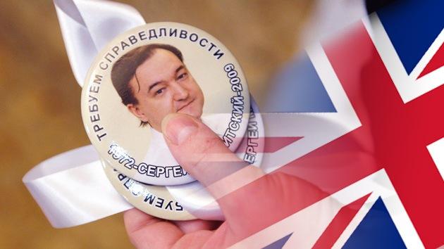 Las autoridades británicas aclaran su postura ante la lista Magnitski