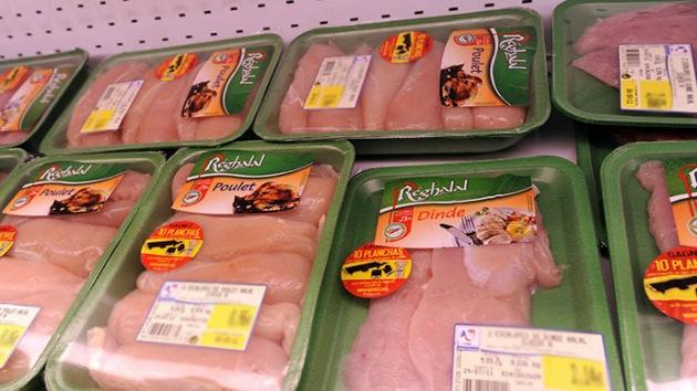 Bacterias con carne de gallina: hay muchas pechugas de pollo en EE.UU. contaminadas