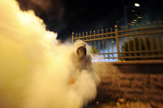 Gases lacrimógenos y cañones de agua contra protesta pacífica en Turquía