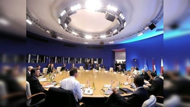 """Conclusión del G8: """"Gaddafi no tiene futuro"""""""