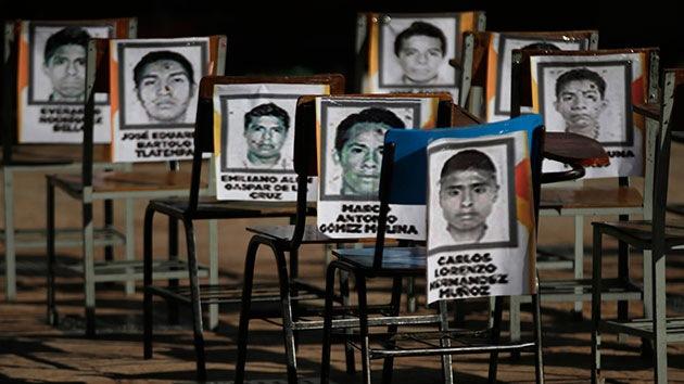 Los 43 normalistas llaman la atención hacia otros 20.000 desaparecidos en México