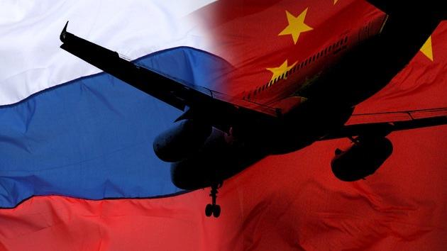 China y Rusia aspiran al 10% del mercado de grandes aviones