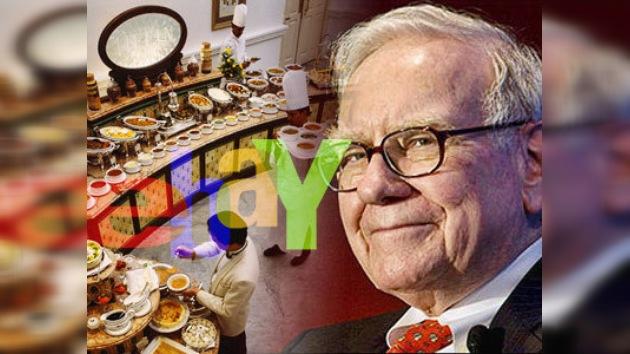 ¿Cuánto pagaría por una cena con el multimillonario Warren Buffett?