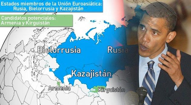 """""""EE.UU. no debe subestimar a la Unión Euroasiática"""""""