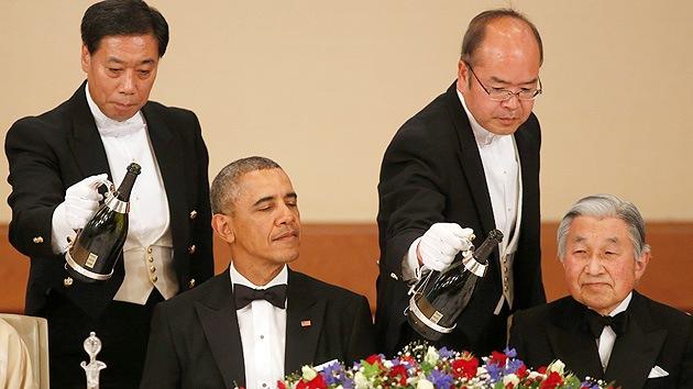 ¿Le gustó el helado de té verde?: Lo que le interesa a los reporteros de la gira asiática de Obama