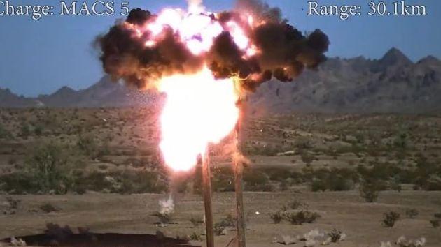 Video: La capacidad destructiva del nuevo proyectil de EE.UU.