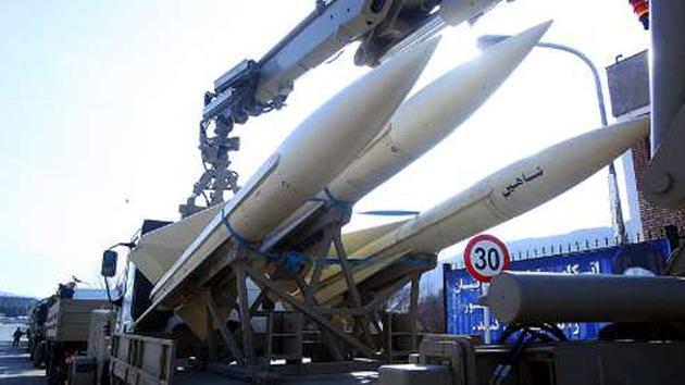 Irán probará tres tipos de misiles de producción propia antes de fin de mes