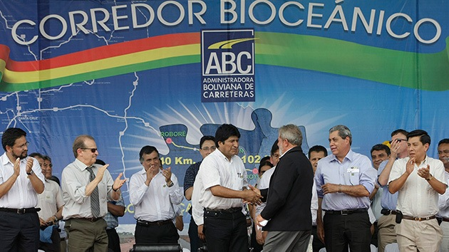 Bolivia ultima su corredor vial bioceánico