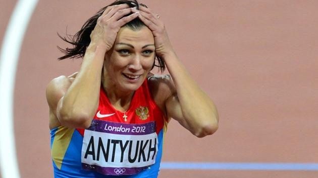Londres 2012: la rusa Natalia Antiuj, oro en 400 metros vallas