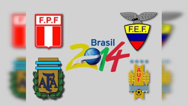 Victorias de Argentina, Uruguay, Ecuador y Perú en su debut para llegar a Brasil 2014