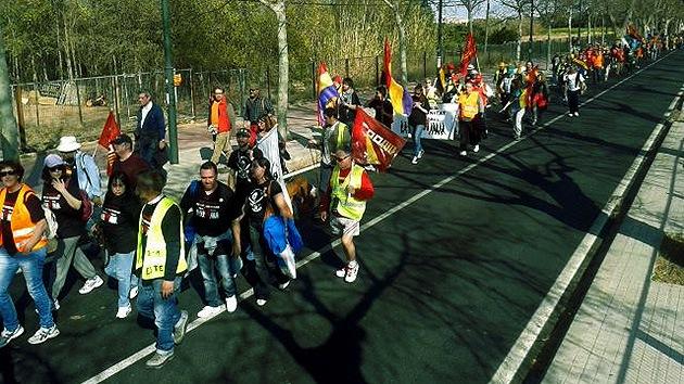 """Fotos: Las Marchas de la Dignidad avanzan hacia su """"conquista de Madrid"""""""