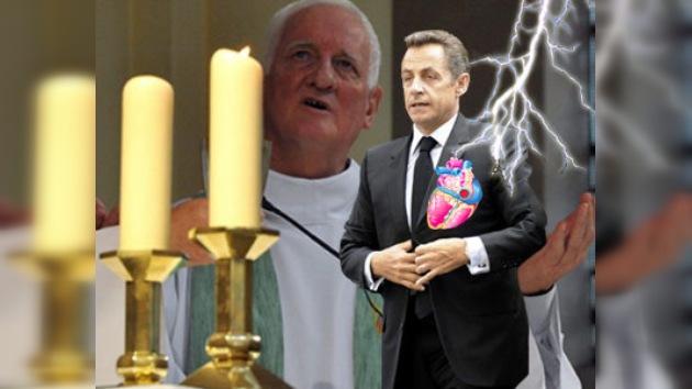 Un cura francés reza para que a Sarkozy le dé un ataque cardíaco