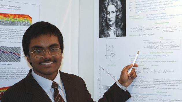 Un adolescente resuelve un problema planteado por Newton hace más de 300 años