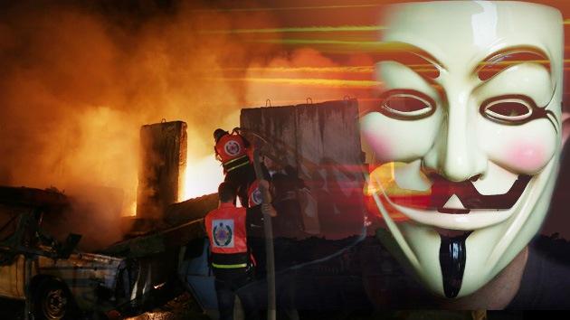 """Video: Anonymous declara la guerra a Israel: """"No escaparéis de nuestra ira"""""""