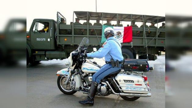 Los militares mexicanos invaden territorio de Texas