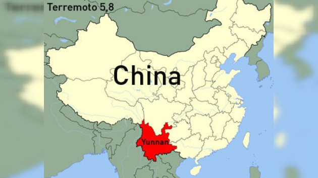 Un fuerte terremoto en China causa 14 muertos y numerosos heridos