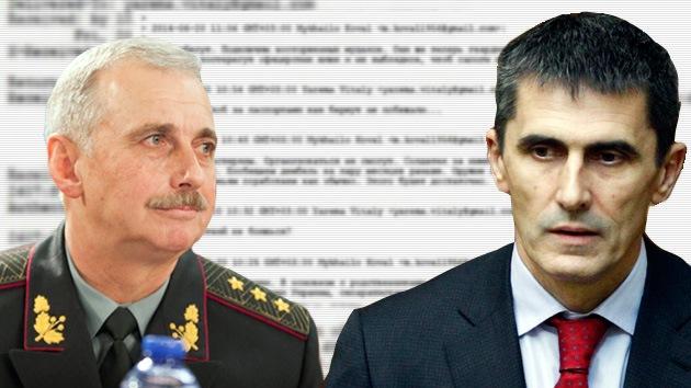 Correos 'hackeados' revelan un posible motín en el Ejército de Ucrania