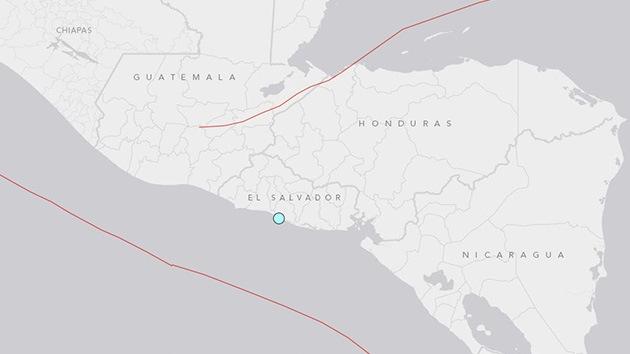 Un terremoto de 5,9 de magnitud sacude Guatemala y El Salvador