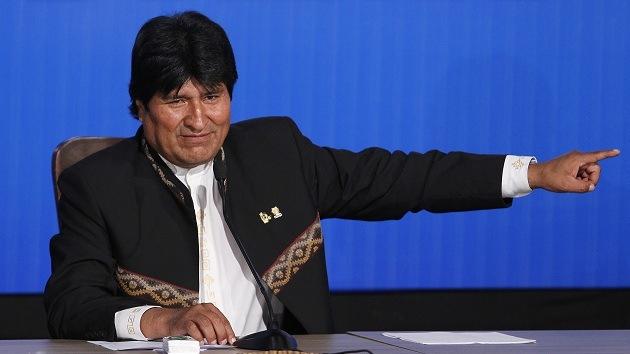 Evo Morales dice que EE.UU. busca desprestigiarlo en periodo preelectoral