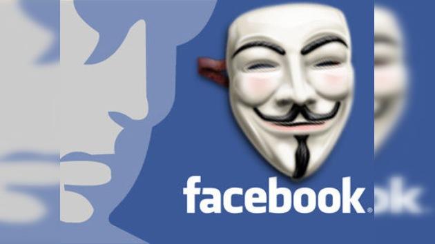 Anonymous niega que planee 'echar abajo' Facebook