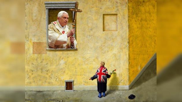 Las autoridades inglesas se disculpan por la sátira sobre el Papa