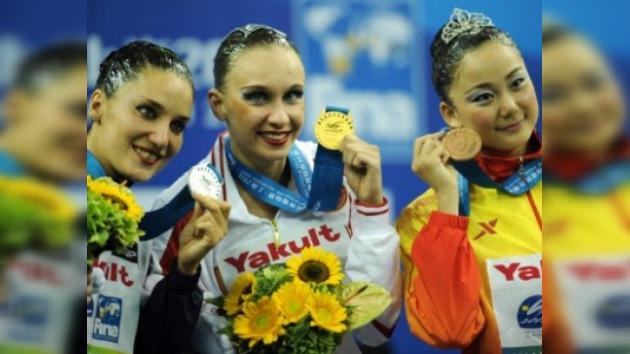 Natalia Íschenko conquista su 13.ª  medalla dorada en natación sincronizada
