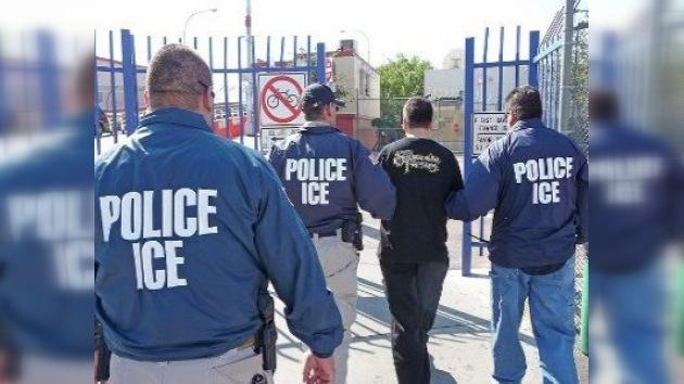 Casi 600 inmigrantes detenidos en 3 días en EE. UU.
