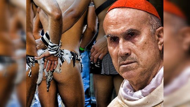 Activistas gays chilenos enfrentan a Bertone