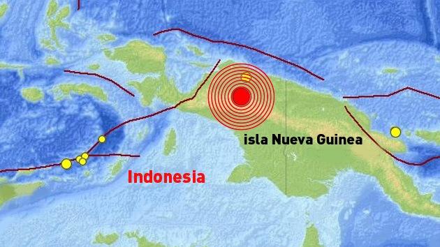 Un sismo de magnitud 7,1 sacude el este de Indonesia