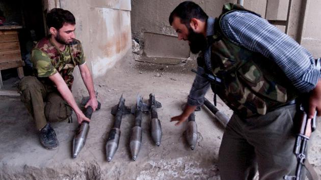 Las armas enviadas a los rebeldes sirios acaban en manos de extremistas