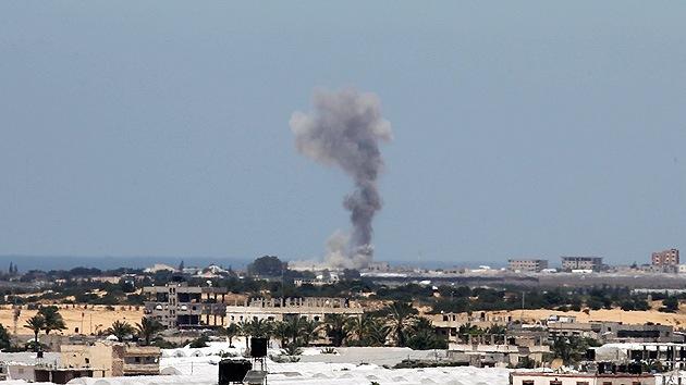 Israel lanza una serie de ataques contra la Franja de Gaza