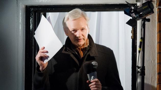 Assange presenta una solicitud para registrarse como candidato a senador