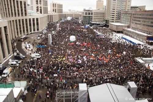 Fotos: la oposición protesta los resultados de las elecciones