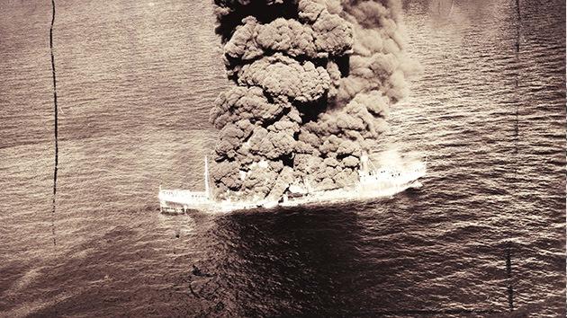 Los buques hundidos por Hitler 'amenazan' a EE.UU. con derrames de petróleo