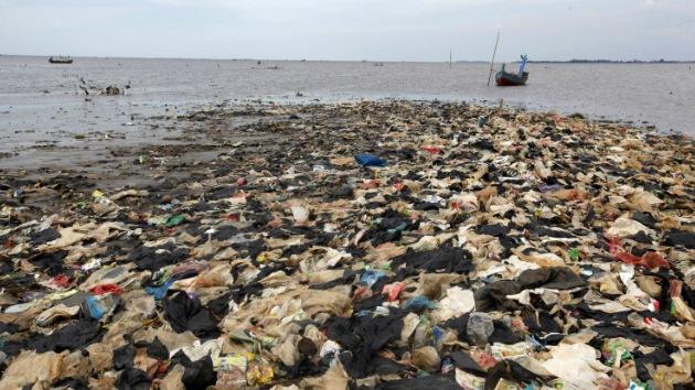 El 88% de la superficie de los océanos está contaminada con plástico