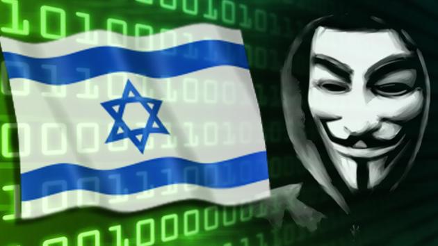 Anonymous publica datos personales de 5.000 funcionarios israelíes