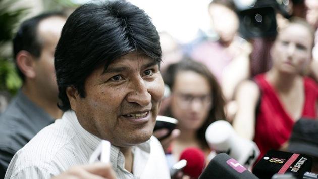 """Evo Morales: """"Parece que algunos países europeos piensan como hace 500 años"""""""