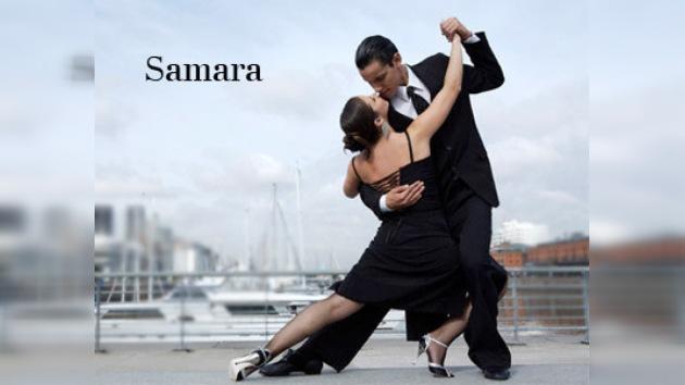 Samara llevó a cabo su primer festival de tango argentino