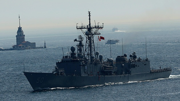 Otra fragata de EE.UU., rumbo al mar Negro