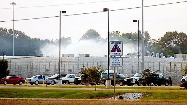 Motín en una cárcel privada estadounidense