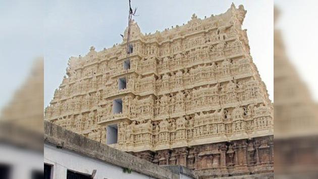 Un templo indio escondía en sus entrañas un tesoro de película