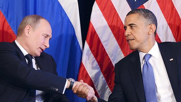 """Mensaje de Putin a Obama: Rusia ofrece a EE.UU. un diálogo sincero """"sin fricciones"""""""