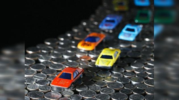 700 kilos de monedas para comprar un coche